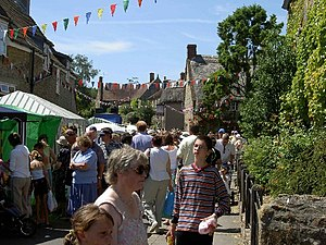 Yetminster - Yetminster Fair in 2003