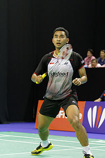 Tommy Sugiarto Indonesian badminton player