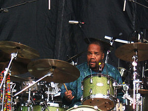 The Derek Trucks Band - Yonrico Scott, on drums