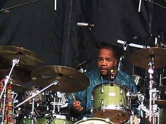 The Derek Trucks Band - Yonrico Scott, on drums