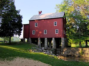 Pall Mall, Tennessee - The mill at Sgt. Alvin C. York State Historic Park
