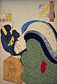 Yoshitoshi - Looking hot - the appearance of a housewife in the Bunsei era.jpg