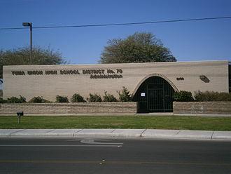 Yuma Union High School District - Image: Yuma Union