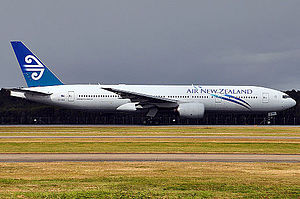 Air New Zealand - Air New Zealand added the Boeing 777 to its fleet in 2004. As of 2014, the 777-200ER and the larger -300ER formed the core of the airline's long-haul fleet.