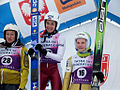 Zakopane 2012 womens continental cup podium.jpg
