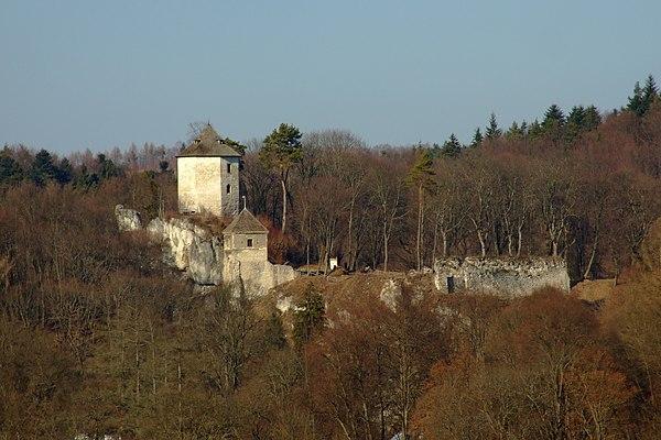 Zamek w Ojcowie. Fot. Wikimedia Commons, autor: Morneomorneo, lic. CC BY-SA 3.0 PL.
