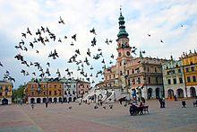 Il centro storico di Zamość, dichiarato patrimonio mondiale dall'UNESCO