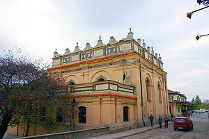 History of the Jews in Europe - Late renaissance synagogue in Zamość (1610–1620).