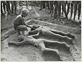 Zandbouwwedstrijd in 1959 op het strand in Zandvoort. NL-HlmNHA 54004628.JPG
