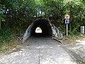 Zelené Předměstí, východní silniční most přes severní prodloužení ulice U Trojice (05).jpg