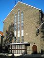 Zijkant Tuindorpkerk Utrecht Nederland.JPG