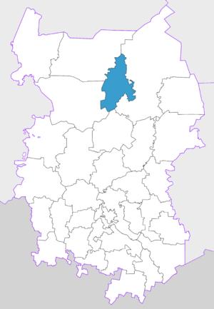 Znamensky District, Omsk Oblast - Image: Znamensk region Omsk