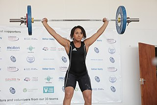 Zoe Smith English weightlifter