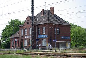 Royal Prussian Military Railway - Zossen station