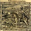 Zsámboki János (Ioannes Sambucus) kutyáival.png
