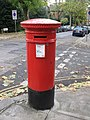 """Anonymous"" (Victorian) postbox, Lyndhurst Gardens - Wedderburn Road, NW3 - geograph.org.uk - 1073592.jpg"