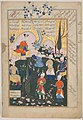 """Birth of Zal"", Folio from a Shahnama (Book of Kings) MET DP215767.jpg"