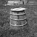 """Krina"", lesena posoda za mast, zabelo, moko, Kanji Dol 1959.jpg"