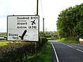 """Straight ahead for Dundrod"", Mullaghglass - geograph.org.uk - 1506783.jpg"