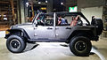 """ 15 - ITALY - Jeep (Fiat) stand in Milan - Jeep Wrangler Rubicon BEAST 4x4 plastic Monocoque 01.jpg"