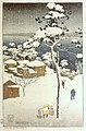 'Negishi -Japan-, woodblock print by Charles W. Bartlett, 1916, Honolulu Academy of Arts.jpg
