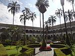 (Iglesia de San Francisco, Quito) Convento pic.b5 interior courtyard.JPG