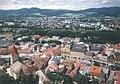 (SK) Slovensko - pohľad Trenčiansky hrad nad mestom - Trencin Castle looking over the town (August 1997) - panoramio.jpg