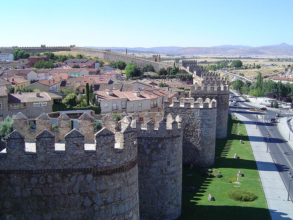 Ávila. Murallas 2