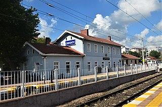 Çerkezköy railway station