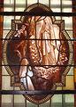Église Saint-Nicolas, L'Hôpital, vitrail sacristie, Lourdes.jpg