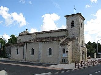 Saint-Martin-Lacaussade - Image: Église de Saint Martin Lacaussade (02)