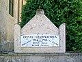 Épinay-Champlâtreux (95), monument aux morts à droite de l'église.jpg