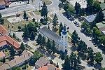 Érsekvadkert katolikus templom, légi felvétel.jpg