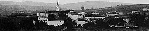 Éveux - A general view of Éveux, at the beginning of the 20th century