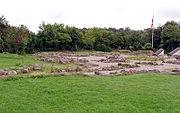 Ruiner af klosterkirken ved Øm Kloster