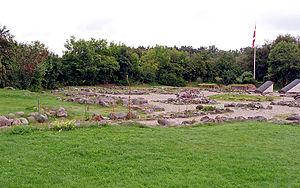 Øm Abbey - Church-ruins at Øm Abbey.
