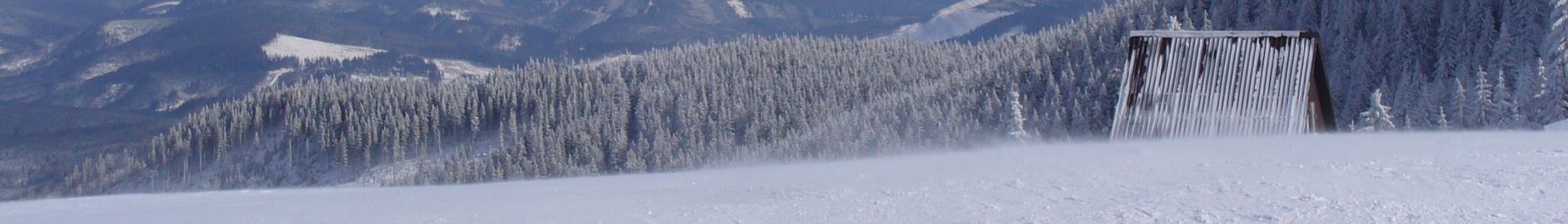 Babia Góra in winter - view from Hala Miziowa