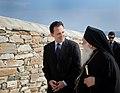 Επίσκεψη ΥΠΕΞ Δ. Δρούτσα στο Άγιο Όρος FM Droutsas visits Mount Athos (3-4.06.2011) (5795574297).jpg