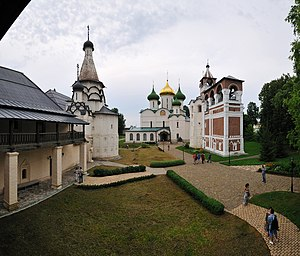 White Monuments of Vladimir and Suzdal - Image: Ансамбль Спасо Евфимиева монастыря