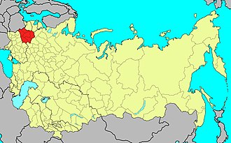 Belorussian Military District - The territory of the Byelorussian Military District in 1991.