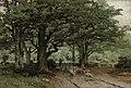 Володи́мир Д. Орло́вський - Пастушка та її паства в лісі (1871).jpg