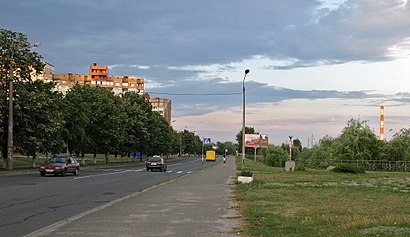 How to get to вулиця Миколи Закревського with public transit - About the place