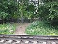 Вход на Богословку с железной дороги.jpg