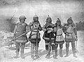 В. К. Арсеньев в удэгейском костюме (в центре) и удэгейцы с реки Анюй..jpg