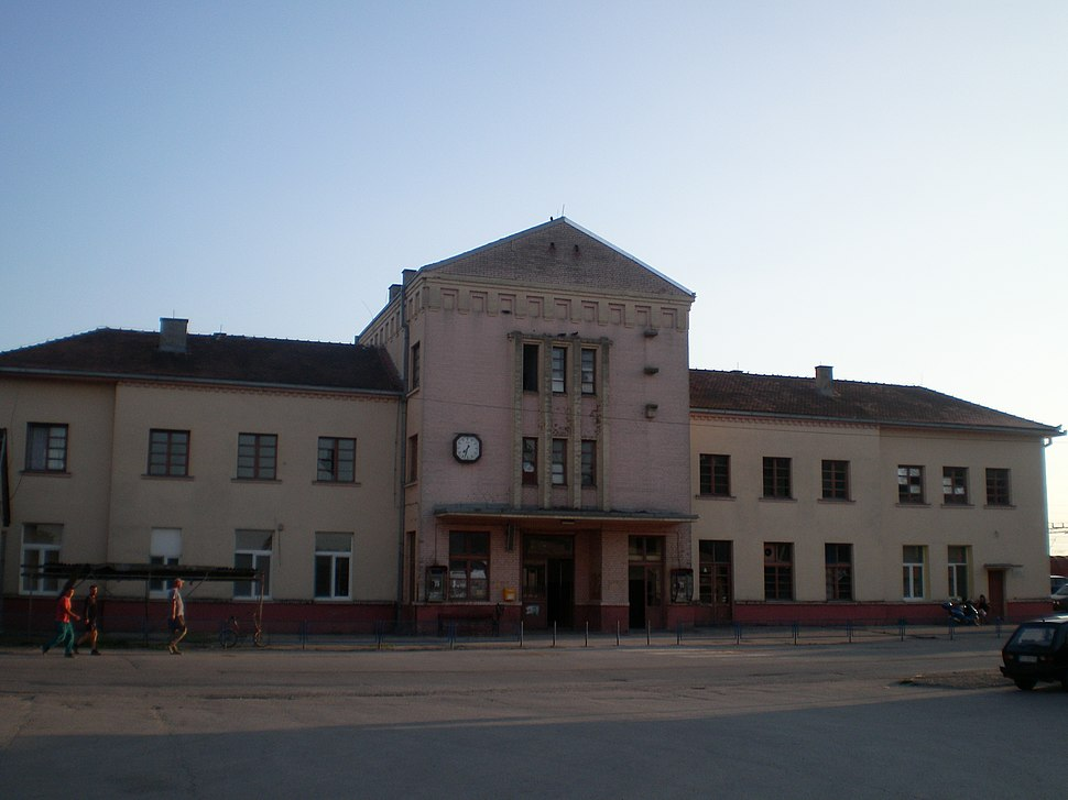 Железнодорожный вокзал в Шиде