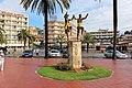Ллорет де Мар. Скульптурная композиция «Танцующие сардану» (Monumento a la Sardana) - panoramio.jpg