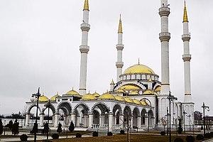Magomed Daudov - Mosque in Geldagan named after Makka Daudova
