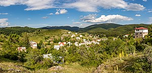 Lazaropole - Panoramic view of the village
