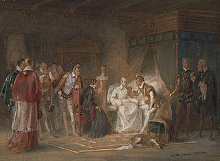 The Visit of Charles IX to the Dying Coligny
