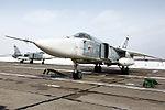 Прибытие экипажей фронтовых бомбардировщиков Су-24М с авиабазы Хмеймим в Сирии на аэродром Центрального военного округа (5).jpg